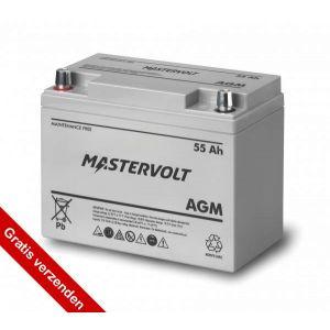 Mastervolt AGM accu 55Ah