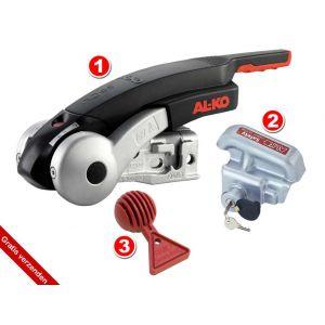 AL-KO AKS 3004 Comfort 3000 Kg Stabilisatiekoppeling 3 delig veiligheidspakket