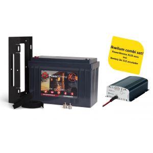 PowerXtreme X125 + Xenteq LBC 512-10S Acculader