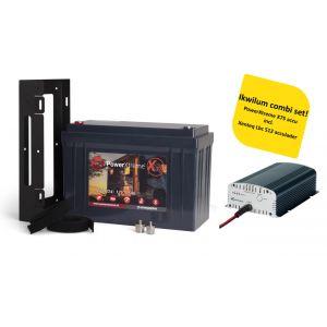PowerXtreme X75 + Xenteq LBC 512-10S Acculader