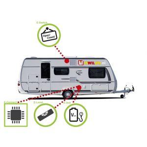 E-Trailer Pakket Caravan