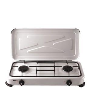 kooktoestel 2-pits wit
