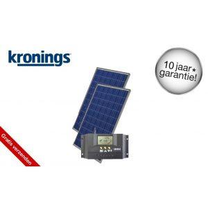 Kronings Solar zonnepaneel 200W set