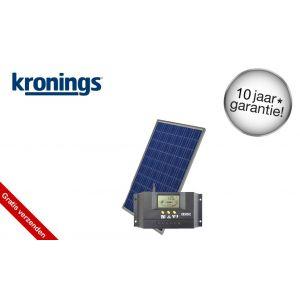 Kronings Solar zonnepaneel 100W set