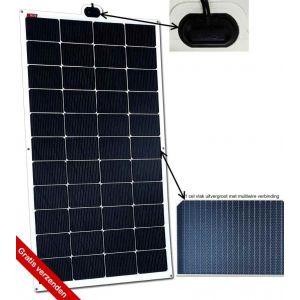 NDS SOLARFLEX EVO 165W Flex Zonnepaneel SFE165WP
