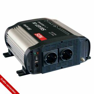 NDS SM1000-12-Omvormer 12VDC>230V,1000W Gemodificeerde sinus