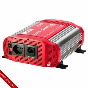 NDS SP1000I-12 Omvormer 12VDC>230VAC, 1000W Pure Sinus, IVT