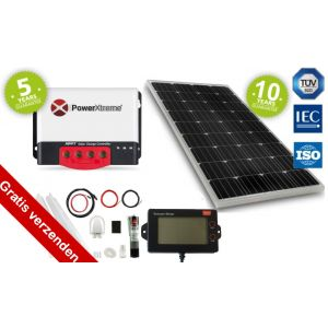Power XS20s Solar Zonnepaneel MPPT 100W display Set (Onze meest complete set)