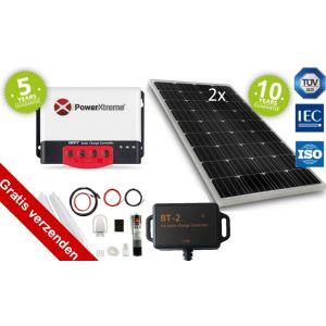 Power XS20s Solar Zonnepaneel MPPT 260W bluetooth Set (Onze meest complete set)