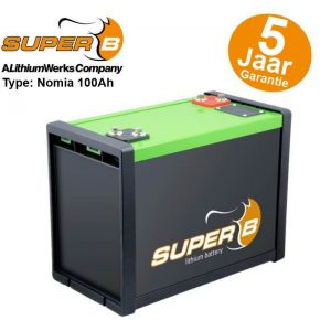 Super-B Nomia 100Ah Lithium Accu 12V LiFePO4